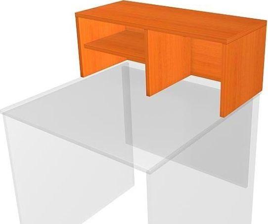 Nástavec psacího stolu 75 cm, třešeň