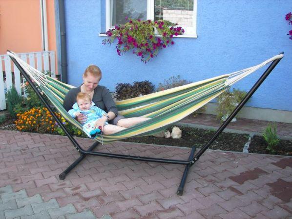 Dětská houpací síť Bravo Verde
