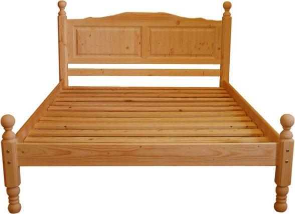 Dřevěná postel Claudia dvoulůžková