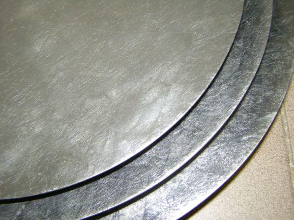 Bambusová mísa - stříbrná