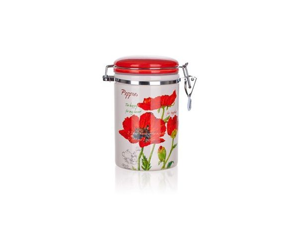 BANQUET Dóza 750ml Red Poppy