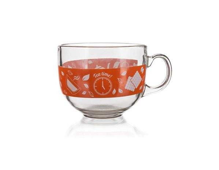 BANQUET Hrnek jumbo MALAGA Tea Time, 435 ml