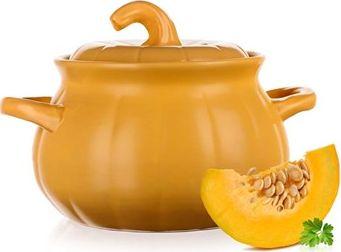 BANQUET Keramický hrnec na vaření a pečení 3,6l Pumpkin