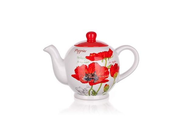 BANQUET Konvice 1200ml Red Poppy OK