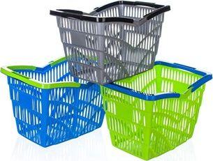 BANQUET Košík nákupní plastový 38,5x28x25 cm