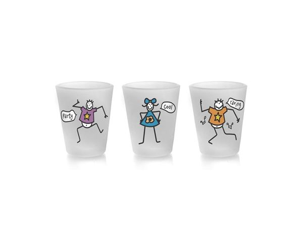 BANQUET Odlivka mat Funny A3 50ml assorted