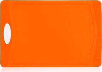 BANQUET Prkénko krájecí plastové 29x19,5x0,85 cm DUO Orange