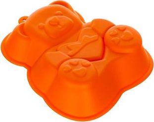 BANQUET Silikonová forma medvídek 14,2x12,3x3,5 cm CULINARIA orange