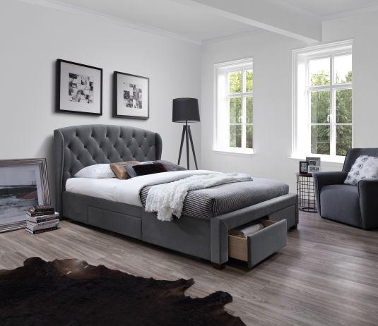 Fotografie Čalouněná postel Sabrina