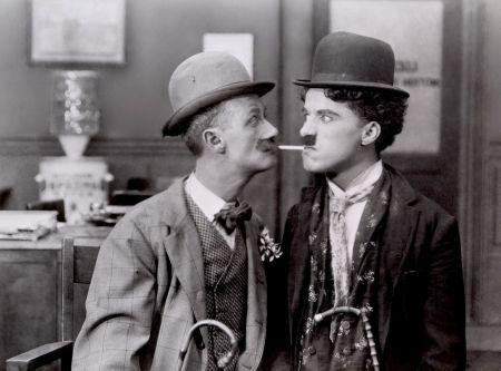 Charlie Chaplin a Ben Turpin