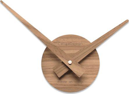 Designové hodiny 10-311 CalleaDesign Botticelli piccolo natur 32cm (více dekorů dýhy) Design černý ořech - 85