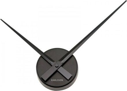 Designové nástěnné hodiny 4348BK Karlsson 44cm