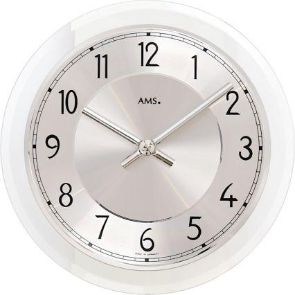 Designové nástěnné hodiny 9476 AMS 23cm
