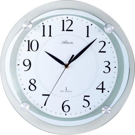 Designové nástěnné hodiny Atlanta AT4297-19 řízené signálem DCF