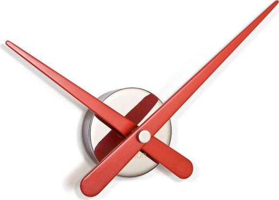Designové nástěnné hodiny Nomon Axioma L red small 37cm