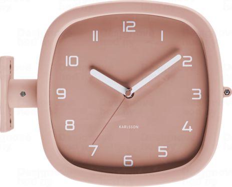 Designové oboustranné nástěnné hodiny 5831PI Karlsson 29cm