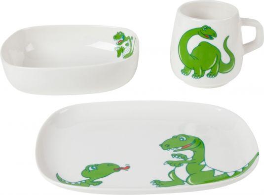 Dětská jídelní souprava Dino-set 3 kusy