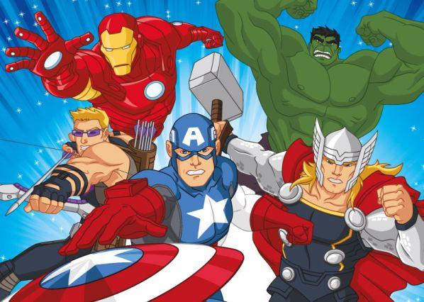 Dětský koberec Avengers 01 Action