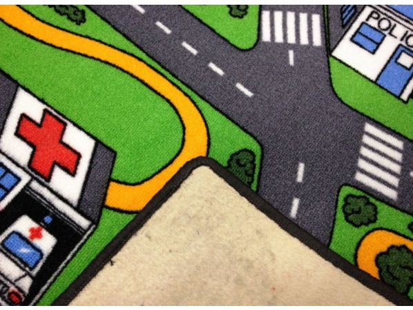 Dětský koberec City life