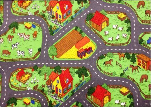 Dětský koberec Farma II.