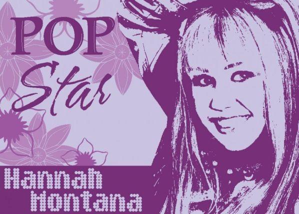 Dětský koberec Hannah Montana Star 03