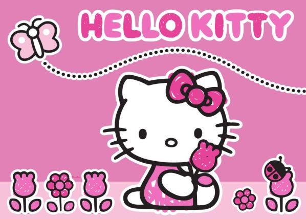 Dětský koberec Hello Kitty Butterfly 17