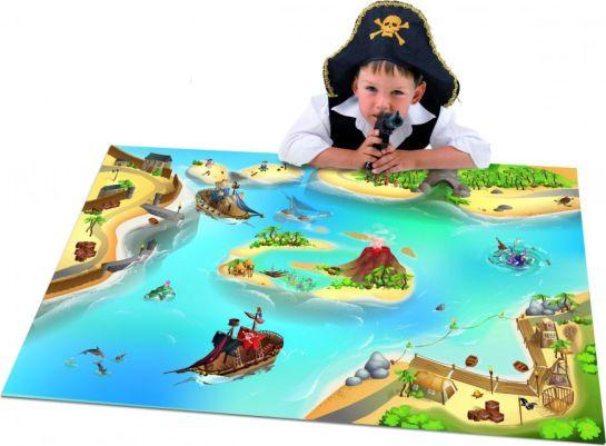 Dětský koberec Hrací koberec Pirátská bitva