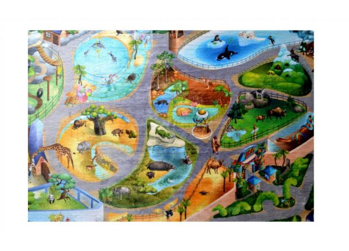 Dětský koberec Ultra Soft ZOO
