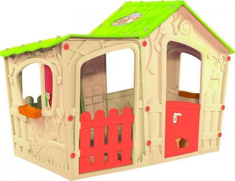 Dětský plastový domeček Magic Villa Play, béžový