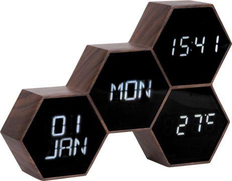 Digitální nástěnné/stolní hodiny KA5805WD Karlsson 18cm