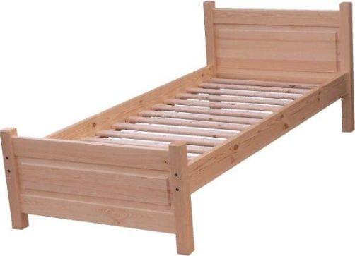 Dřevěná postel Stela