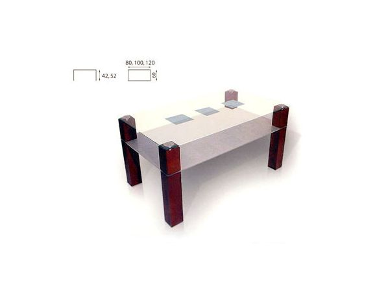 Konferenční stolek Duo 80x60 cm olše