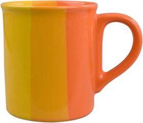 Hrnek oranžovo/žlutý 270ml