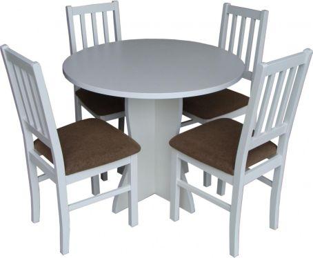 Jídelní sestava Olga, židle Hugo