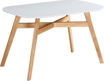 Jídelní stůl Abritait, bílá