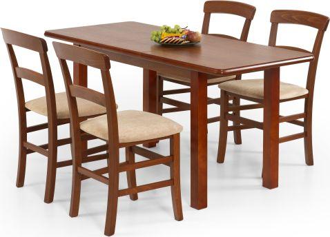 Jídelní stůl Dinner 120/158, třešeň antik