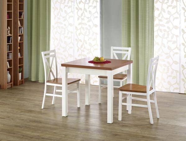 Fotografie Jídelní stůl Gracjan, olše-bílý