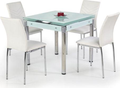 Jídelní stůl Kent mléčné sklo