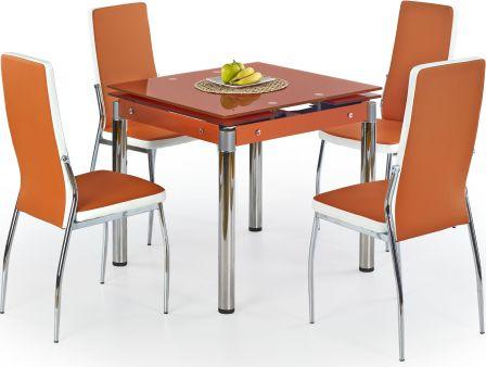 Jídelní stůl Kent oranžový
