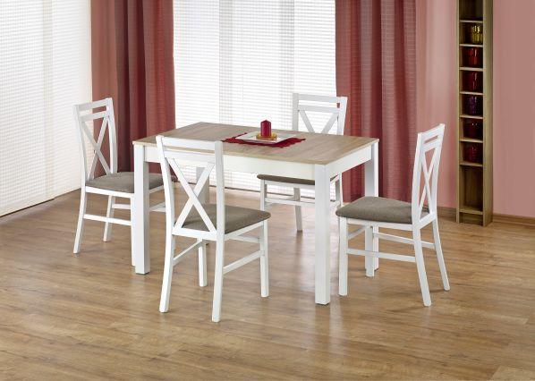 Jídelní stůl Maurycy, bílý-sonoma