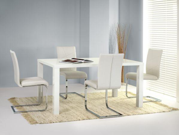 Jídelní stůl Ronald 160-200, bílý