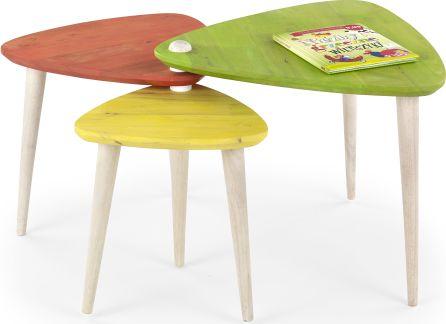 Konferenční stolek Corsica, barevný