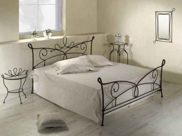 Kovaná postel SIRACUSA 0447