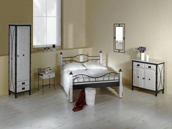 Kovový noční stolek se zásuvkou STROMBOLI 0460