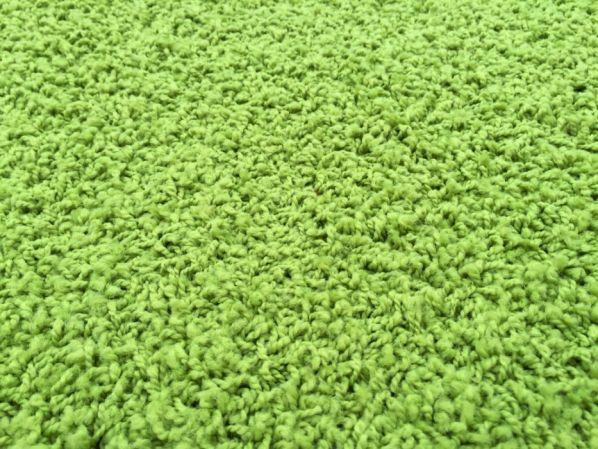 Kusový koberec Color Shaggy zelený