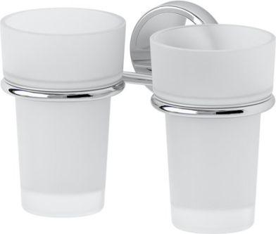 Držák skleničky dvojitý