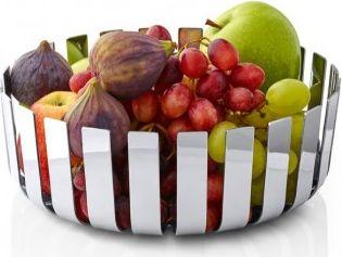 Moderní mísa na ovoce GUSTO, nerez, lesk