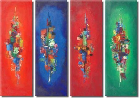 Moderní obraz - V barvách