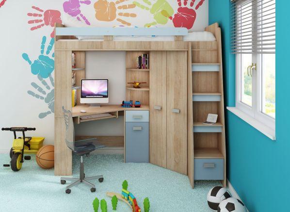 multifunk n patrov postel antresola n bytek. Black Bedroom Furniture Sets. Home Design Ideas