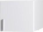 Jednodveřový bílý nástavec Sillas